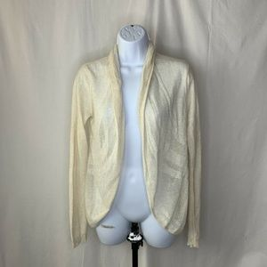Anthropologie Angel Of The North Cardigan XS Cream